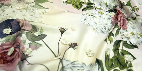 Silk solid color