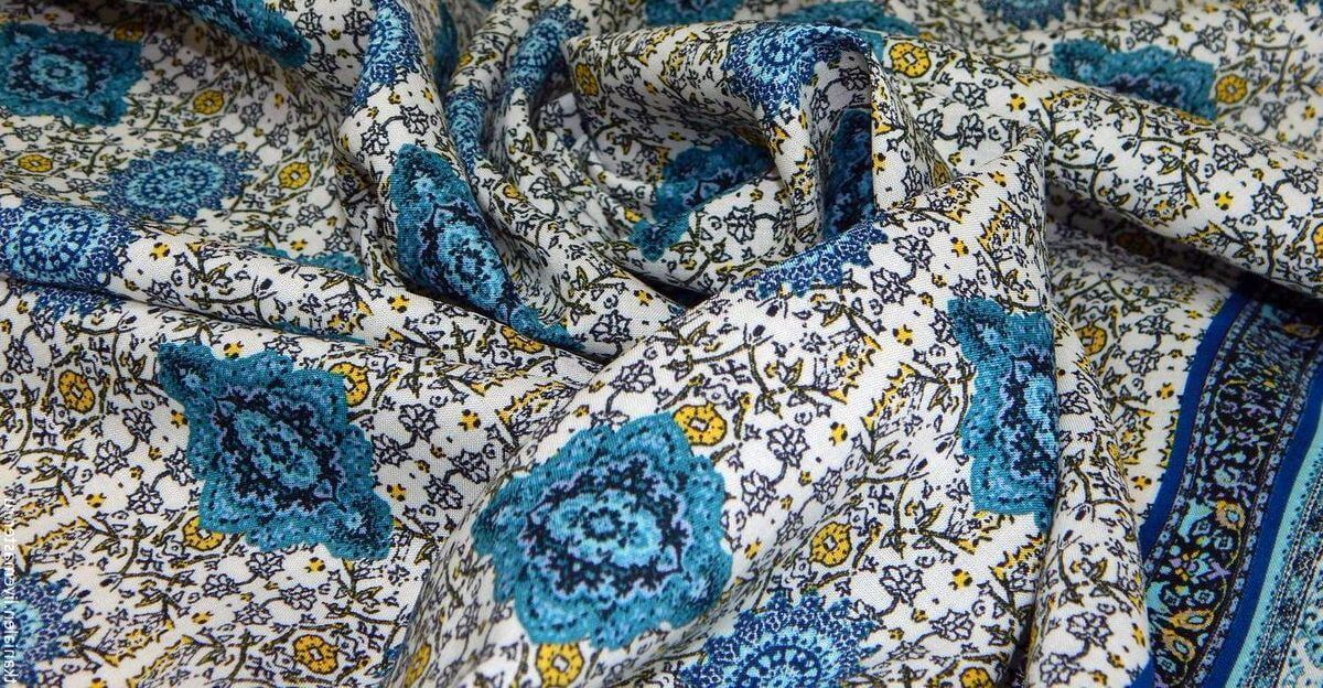 luxury printed fabric