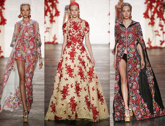 fashion show fabrics