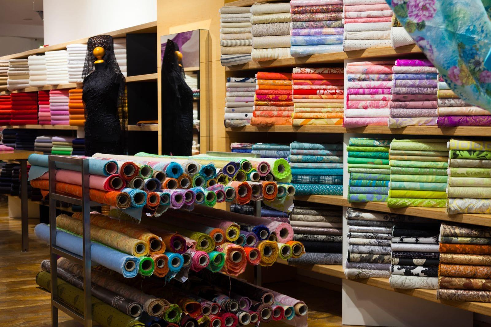fabrics showroom