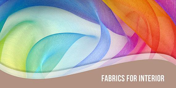 Italian fabrics for interior design